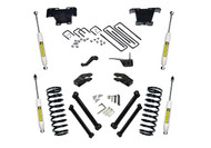 """94-99 Ram 2500/3500 4WD - Diesel/V10 - w/SR Shocks / Superlift 5"""" Lift Kit  Part #K334"""