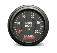 BANKS POWER DYNFACT BOOST GAUGE 64050 BOOST PRESSURE 0-15 PSI