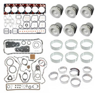 12-VALVE CUMMINS 5.9L (SEE DESCRIPTION FOR CPL#) / MAHLE CUMMINS B SERIES OVERHAUL KIT 409-1025