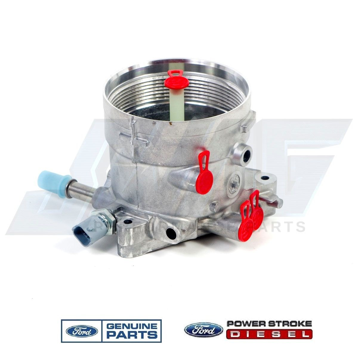 fuel filter housing w/ regulator  image 1