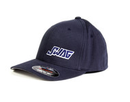 SWAG NAVY FITTED HAT