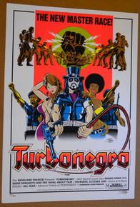 TURBONEGRO - DANKO JONES - ROSELAND - PORTLAND - 2005 - TOUR POSTER - STAINBOY