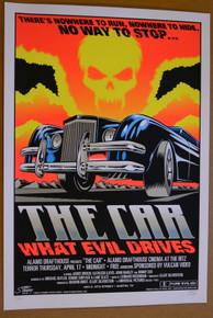 THE CAR  - ALAMO DRAFTHOUSE - 2008 -AUSTIN - TEXAS -STAINBOY -SILKSCREEN 5 COLOR