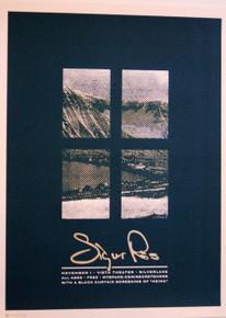 SIGUR ROS - 2007 - HOLLYWOOD - MYSPACE SECRET SHOW  CONCERT POSTER