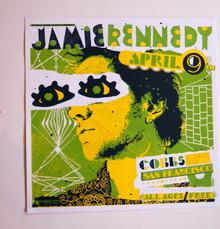 JAMIE KENNEDY - COBBS COMEDY CLUB  - MYSPACE SECRET SHOW CONCERT POSTER