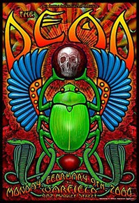 GRATEFUL DEAD - POSTER - GARCIA - RATDOG - WARFIELD 318