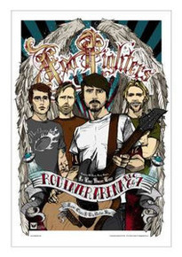 FOO FIGHTERS - IN YOUR HONOR - RHYS COOPER - 2005 - MELBOURNE -  TOUR POSTER -