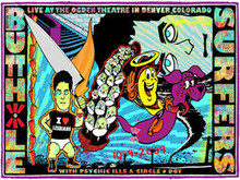 BUTTHOLE SURFERS - 2009 - DENVER  - POSTER - KUHN