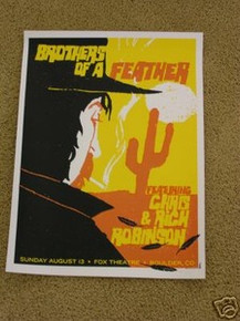 BLACK CROWES - NEW EARTH MUD -ROBINSON- POSTER -VOLLMAR