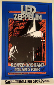 LED ZEPPELIN - WINTERLAND - RANDY TUTEN - BG199  1969 - BILL GRAHAM POSTER -