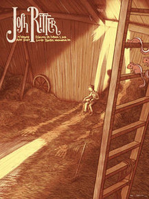 JOSH RITTER - 2014 - JAMES FLAMES - WASHINGTON - LINCOLN THEATRE -  TOUR POSTER