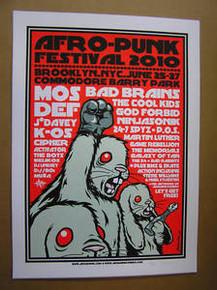 AFRO PUNK FESTIVAL - 2010 - BROOKLYN -  JERMAINE ROGERS