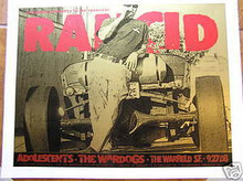 RANCID - WARFIELD - WARDOGS -DONOVAN - 2008 - FIREHOUSE
