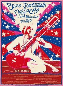 BRIAN JONESTOWN MASSACRE - 2004 UNITED KINGDON TOUR - VARIOUS VENUES - GREALISH