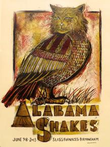 ALABAMA SHAKES - SLOSS FURNACES - 2013 - BIRMINGHAN - SOUND AND COLOR