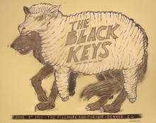 THE BLACK KEYS - 2010 - FILLMORE - DENVER - DAN GRZECA - BRIAN OLIVE