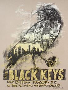 THE BLACK KEYS - 9:30 CLUB - 2008 - WASHINGTON DC - DAN GRZECA