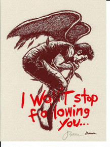 I WON'T STOP FOLLOWING YOU - JERMAINE ROGERS - SIGNED -