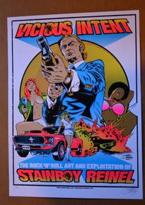 STAINBOY - GREG REINEL - VICIOUS INTENT - #3/100 - ART OF MODERN ROCK - 2008