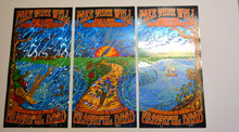 GRATEFUL DEAD - FARE THEE WELL - 2015 CHICAGO - FOIL ARTIST EDITION - MIKE DUBOIS