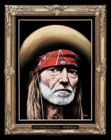 WILLIE NELSON - 2010 - GREEK THEATRE - LOS ANGELES - KII ARENS - POSTER - RYAN BUNGHAM