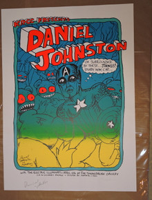 DANIEL JOHNSTON - JERMAINE ROGERS - 2007 - TEST PRINT - THE ELECTRIC ILLUMINATI