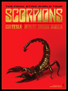 SCORPIONS - TESLA - FINAL STING TOUR - 2012 - STAPLES CENTER - KII ARENS