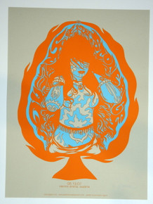 QUEENS OF THE STONE AGE - QOTSA - POSTER - JERMAINE ROGERS- ARTIST PROOF - AUSTRIA - 2007