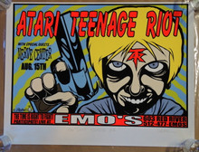 ATARI TEENAGE RIOT - 1999 - EMO'S AUSTIN - JERMAINE ROGERS -  PUNK ROCK POSTER
