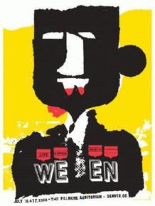 WEEN - 2008 - DENVER - FILLMORE -JAY VOLLMAR - SILK SCREEN POSTER