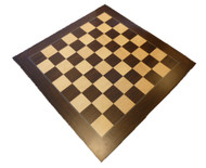 Dal Rossi 40cm Palisander/Maple Chess Board
