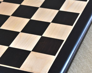 Rex Noir Discipline 50cm Ebony Chess Board