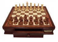 Dal Rossi Wooden Chess 50cm Set