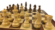 Rex Noir Elite 95mm Sheesham/Boxwood Chess Pieces Only