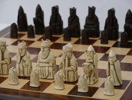 Berkeley Chess Isle of Lewis Chessmen (Brown)