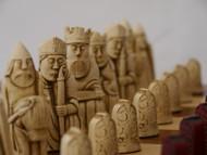 Berkeley Chess Isle of Lewis Chessmen (Red)