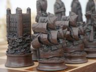 Berkeley Chess Elizabethan Brown