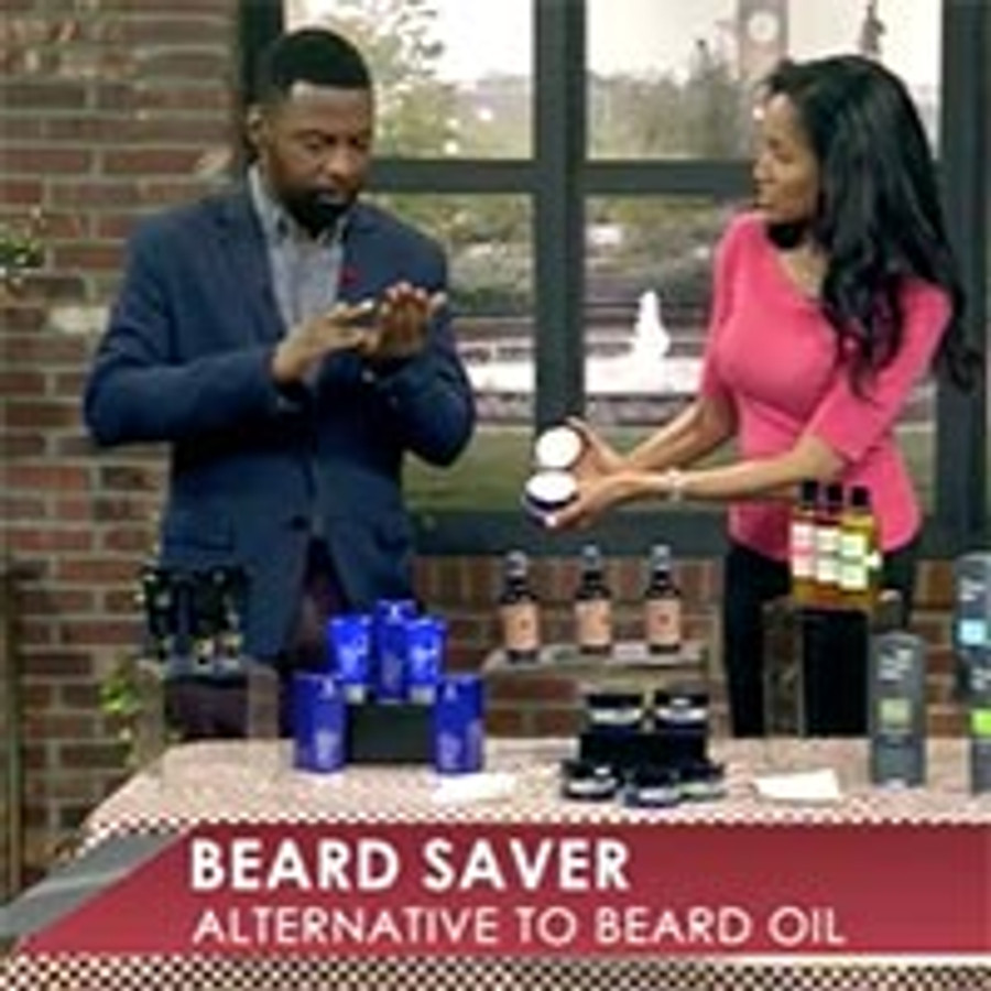 Beard Saver Featured on TV