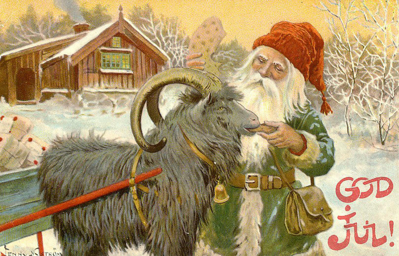 Ditch the Reindeer: it's the Year of the Yule Goat