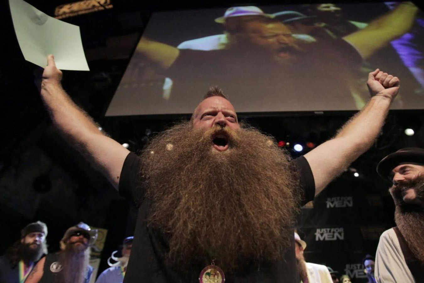 Bluebeards Original Fan Favorite Jeff Langum Is the World Beard Champion