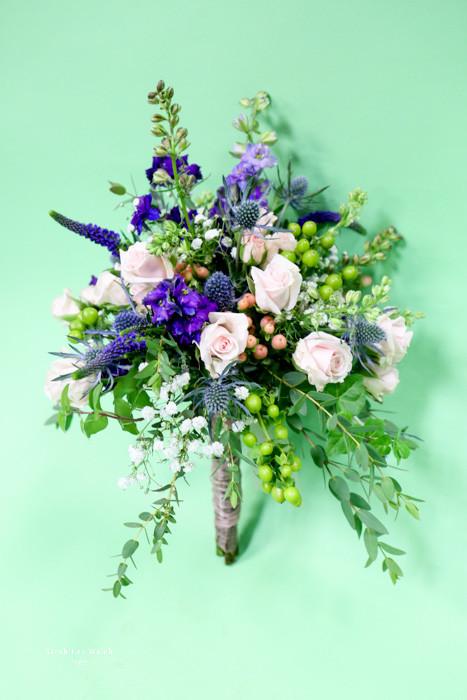 Purple Wild Berry mixed Bouquet