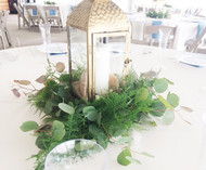 Beautiful Chic lantern Centerpiece
