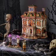 Dept 56 Halloween Village- Lost Laugh Asylum