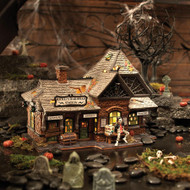 Dept 56 Halloween Villages- Rickety Railroad