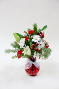 Jingle On Vase Arrangement