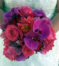 Pink and Fuchsia Bridal Bouquet