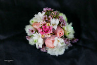 Garden Pink and White Corsage