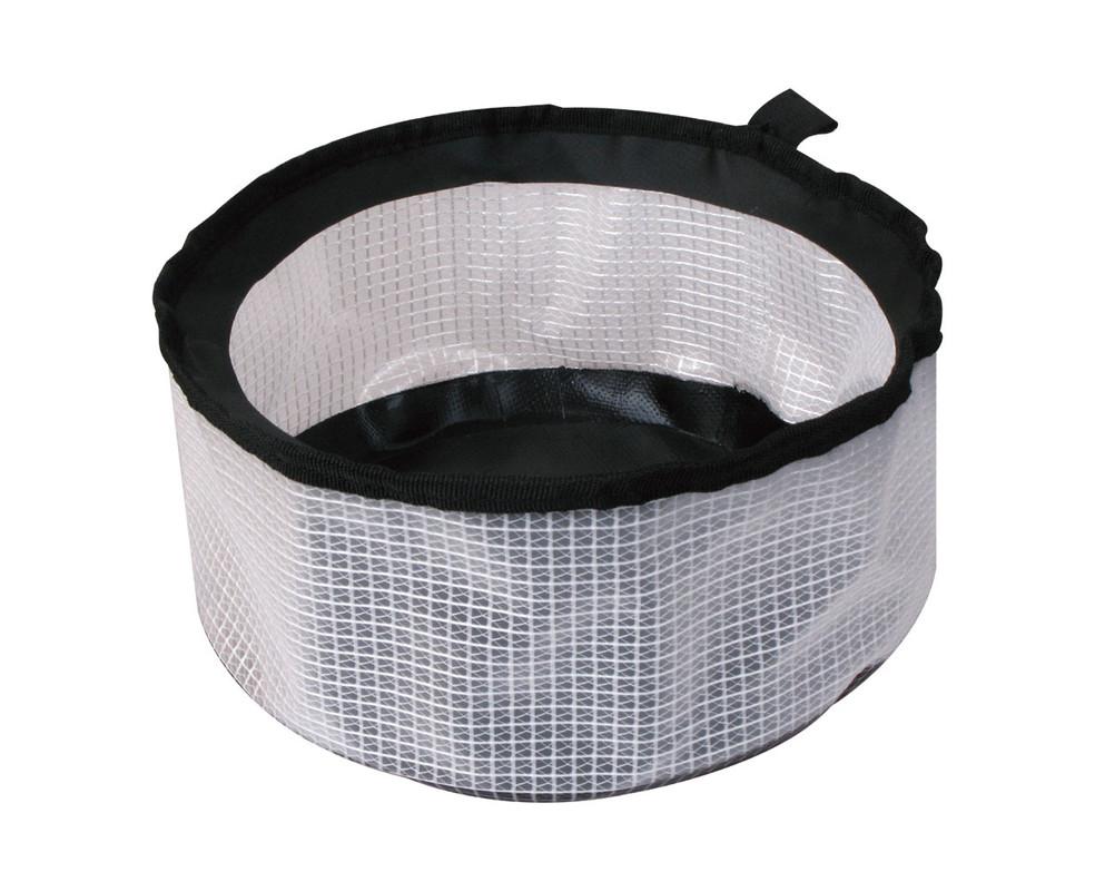 AceCamp transparent folding basin, vinyl, compact,