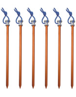 Aluminum Nail Stakes, Lightweight, Camping