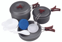 Hard-Anodized Camp Kit M